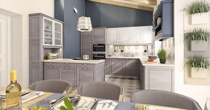 Pokorny Küchenstil / Küche renovieren, Möbelgriffe, Küchenfronten ...
