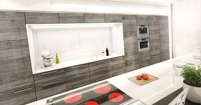 Küchenfronten auswechseln. Leichtes Austauschen mit Pokorny Küchenstil.