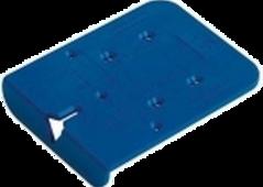Ankörnschablone BlueJig für Scharniere und Kreuzmontageplaten