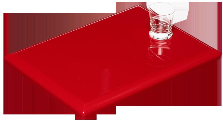 Küchenfrontmuster G21 Rot glänzend