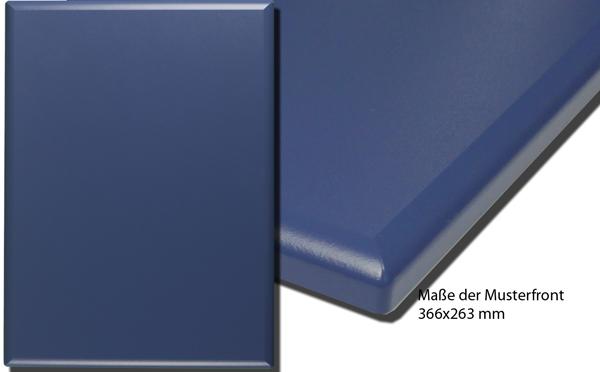 Küchenfrontmuster G01 Blau