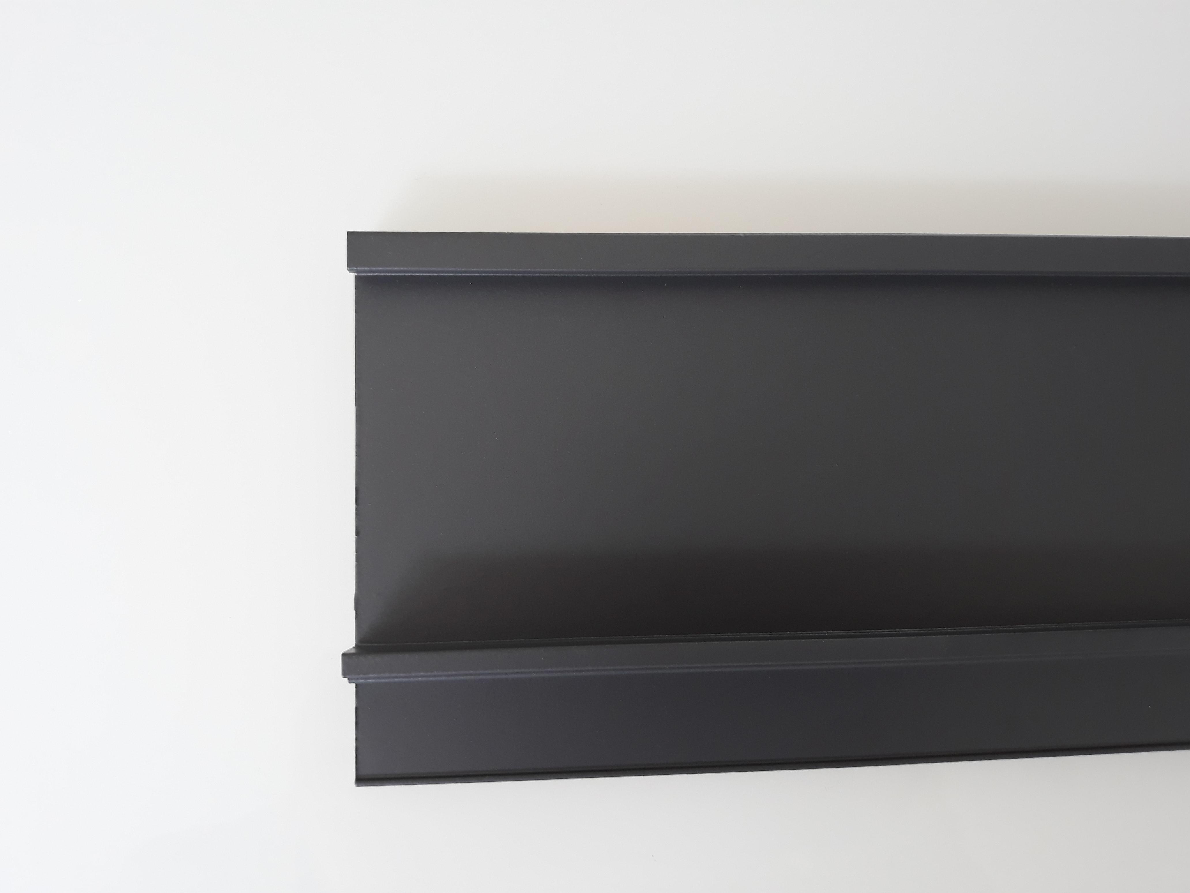 """SFLOW """"IN"""" BOX Aluminium Frontblende Anthrazite H-58-1200/16"""