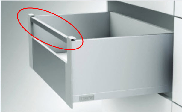 """SFLOW """"IN"""" BOX Frontreling Anthrazit 1200/16"""