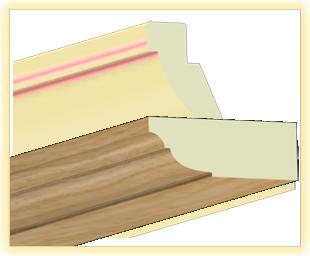 Kranzleiste VL Eiche Aro - Artikelnummer: 78VLAR 1