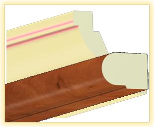Kranzleiste VS Calvados