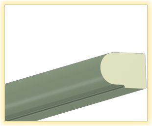 Kranzleiste VS Oliv