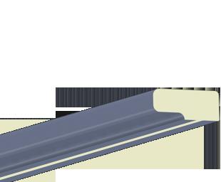 Kranzleiste VG Blau-Grau
