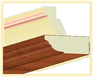 Kranzleiste VL Calvados