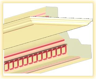 Bartheke HL Vanille beige patiniert