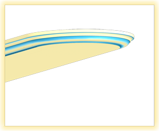 Bartheke KL Vanille blau patiniert